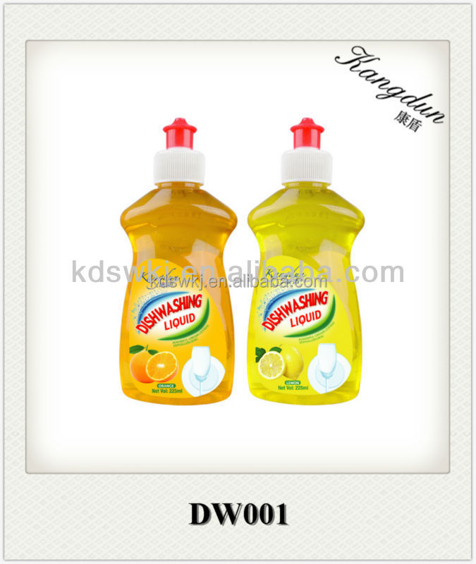 2015 Kangdun best selling fruit and vegetables Washing Liquid 225ml
