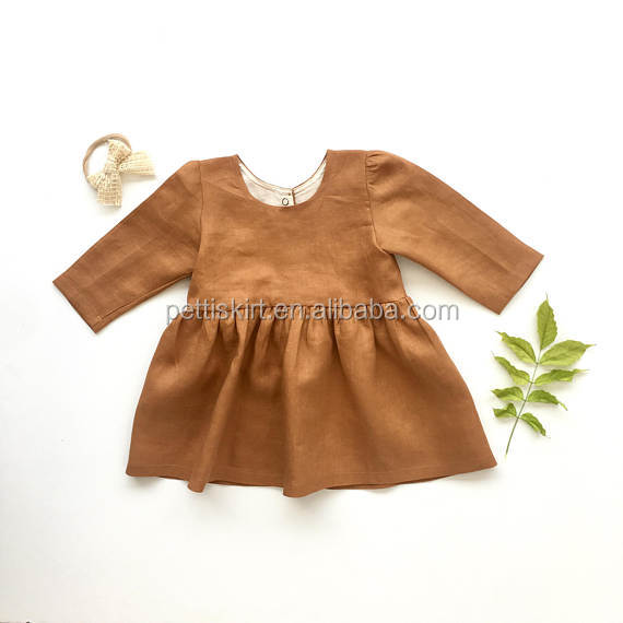 Factory Price Frocks Little Girls One Piece Dresses Baby Girls Dress Designs