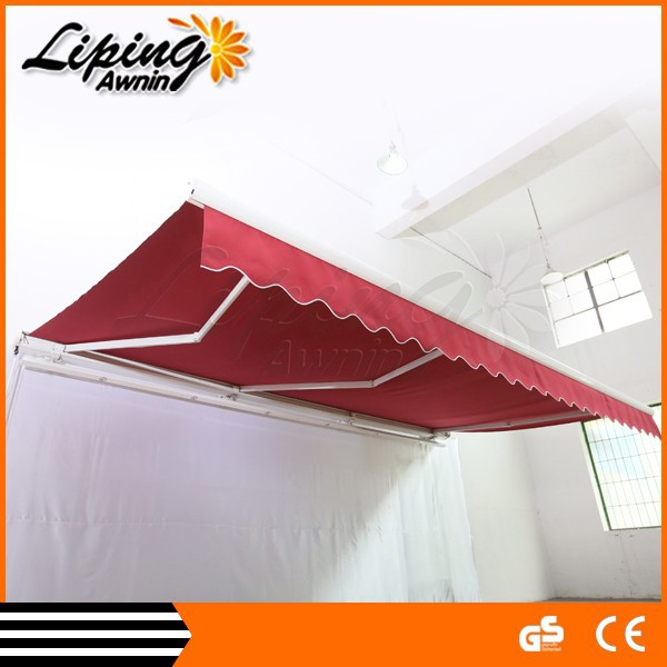 Rain Protection awning in Window and Door