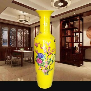 Retail And Wholesale 1meter Tall Ceramic Floor Vases For Indoor And