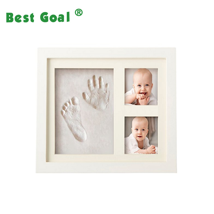 BEST BABY HAND & FOOTPRINT PICTURE FRAME KIT for Boys and Girls