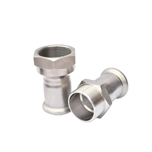 Galvanized Steel Quick Forged Outlet Socket flexible hose nipple