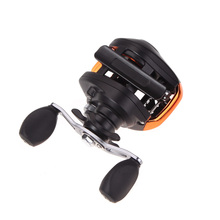 New 10+1BB Ball Bearings Left Hand Baitcasting Carp Fishing Reel High Speed 6.3:1 AF103 Black