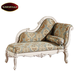 118(W) High end classic home furniture baroque royalty chaise lounge