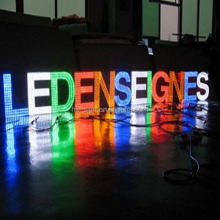 Led acrilico empresa letras en relieve logo