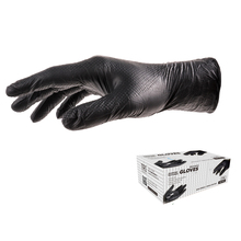 TRILITE Black Color Powder Free Nitrile Glove