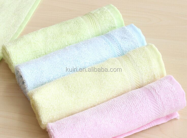 Soft 26 x 28cm New Baby Kids 100% Bamboo Fiber ECO Friendly Hand Face Towel