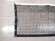 full size plastic high quality tournament tennis net