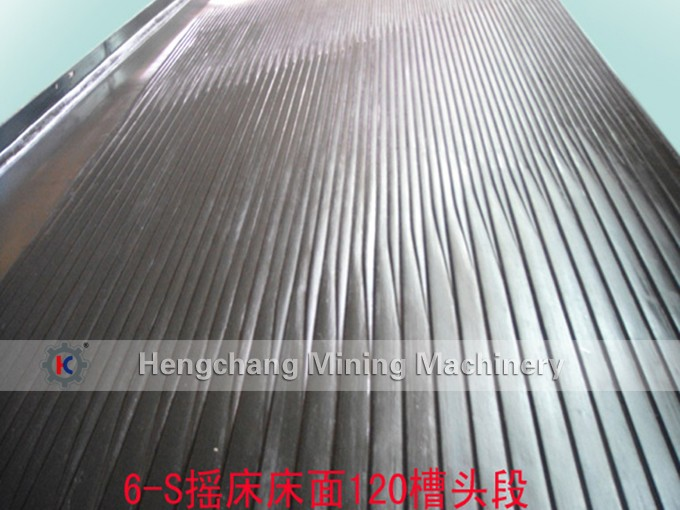Fiber glass 6-S Concentrating Gold Shaking table and Vibrating table