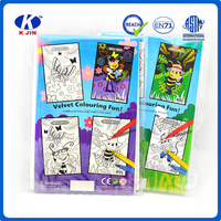 2016 hight quality wholesale cheap color book with water color pencil for drawing