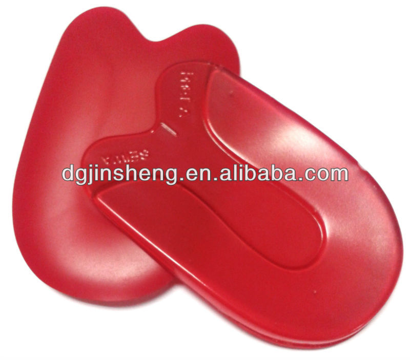Claret Women silicone Gel anti-slip heel pads for shoes