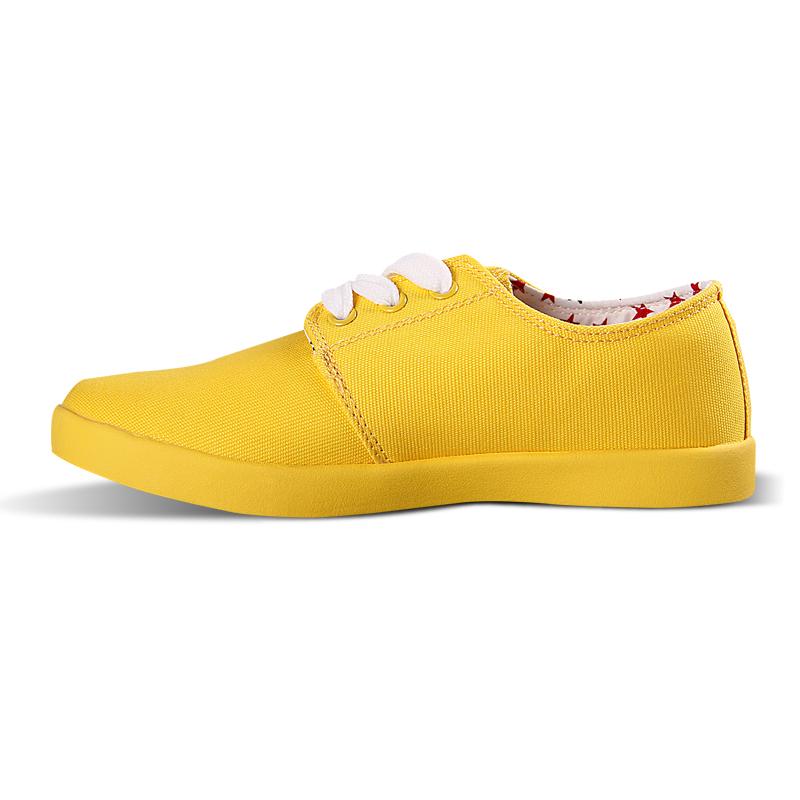 Warrior обувь женщины брезент обувь конфеты цвет свободного покроя обувь скейтбординг обувь женщины размер ( 35 - 39 )