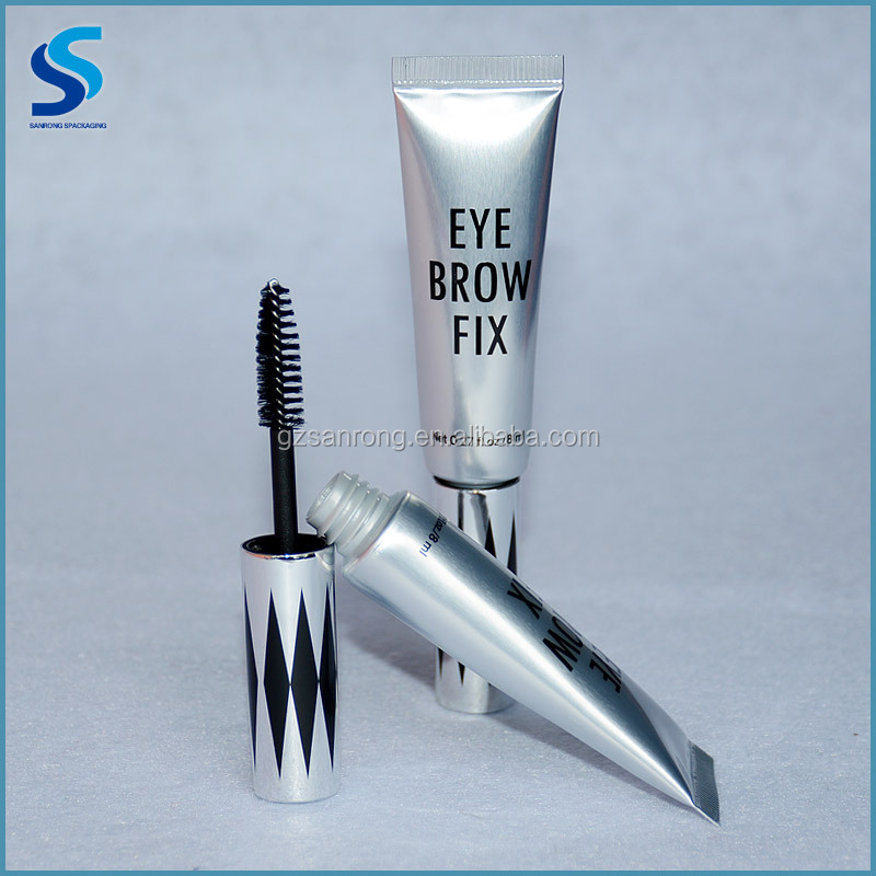 Eye cream tube packaging, empty plastic stick container 3d tube mascara packaging tube