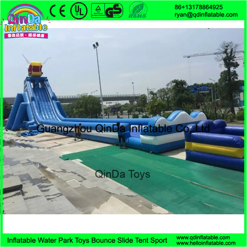 Commercial grade giant inflatable water slide for adult big water slides for sale
