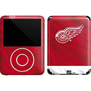 NHL Detroit Red Wings iPod Nano (3rd Gen) 4GB&8GB Skin - Detroit Red Wings Home Jersey Vinyl Decal Skin For Your iPod Nano (3rd Gen) 4GB&8GB