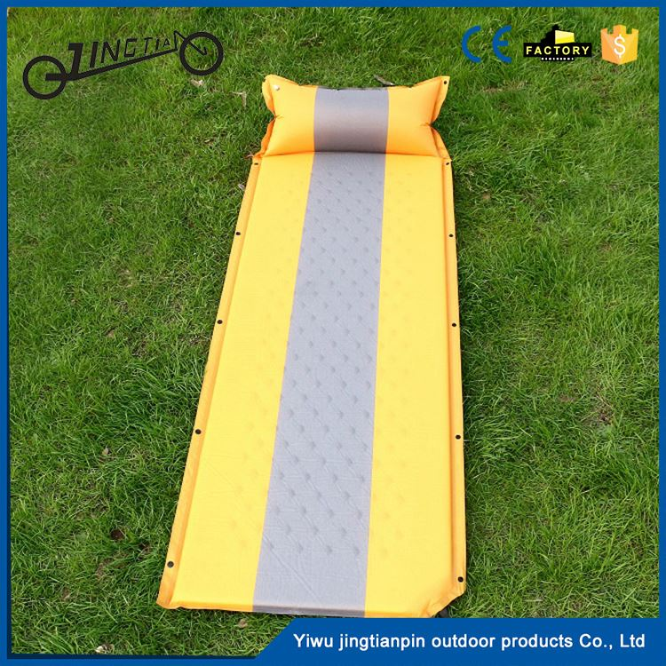 Car travel back seat extended beach mat inflatable pad pvc sea single air mattress