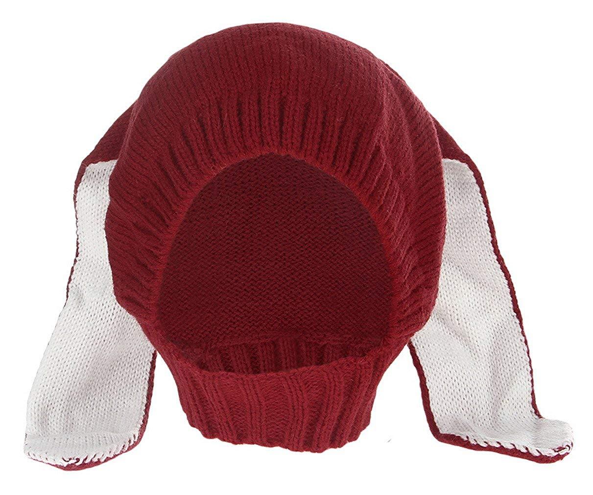 2b23f92249b Get Quotations · La Vogue Baby Cute ear Hats Winter Crochet Earmuff Earcap Knit  Hat