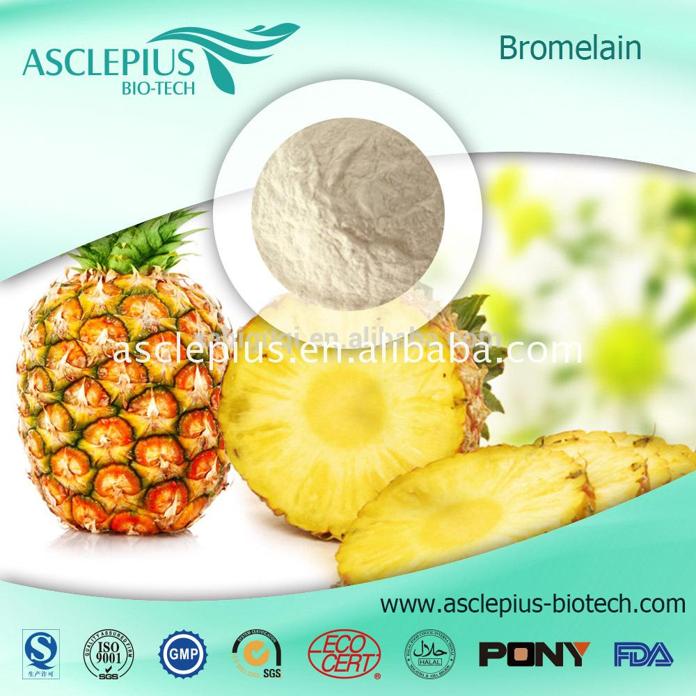 Best quality how much bromelain in pineapple in China