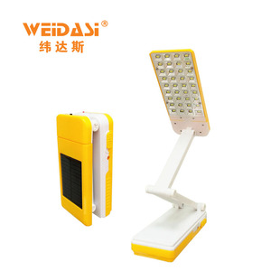 folding function study table portable rechargeable led lamp