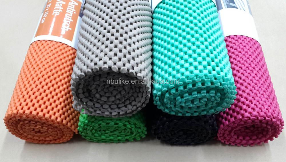 Anti Slip Plastic Foam Pvc Rug Pads Underlay Carpet