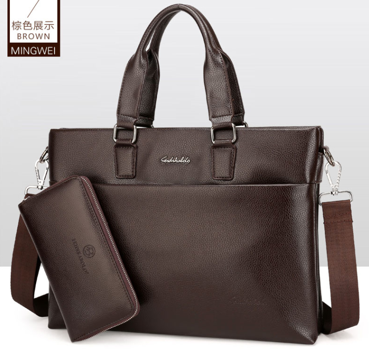 bf9870c83d4e4 China wholesale men bags fashion one shoulder bags latest version office  handbags for business people China best supplier