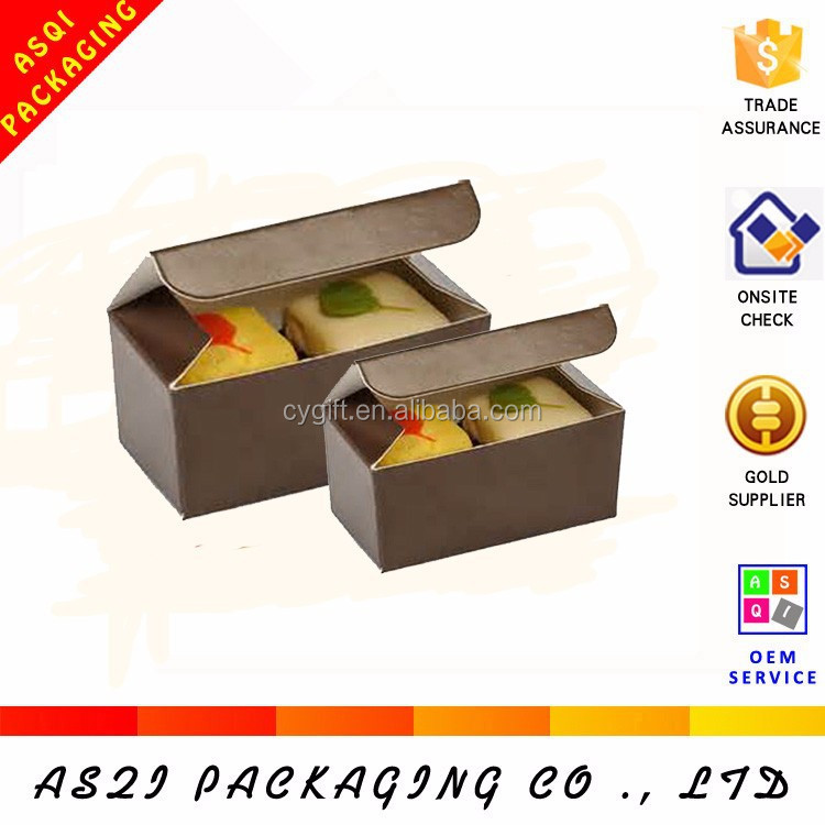 birthday cake packaging paper cardboard box for macaron