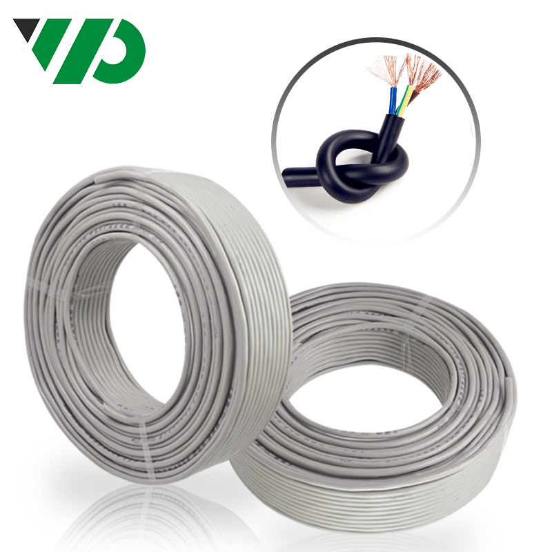0.75mm Electric Wire Flexible Pvc Insulated Cable For House Use Industrial Cables H05vv-f/sjt
