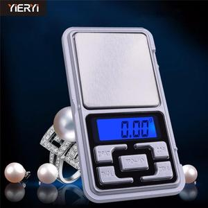 mini 200 x 0.01 LCD electronic scales Gram Digital Pocket Jewelry Scale kitchen
