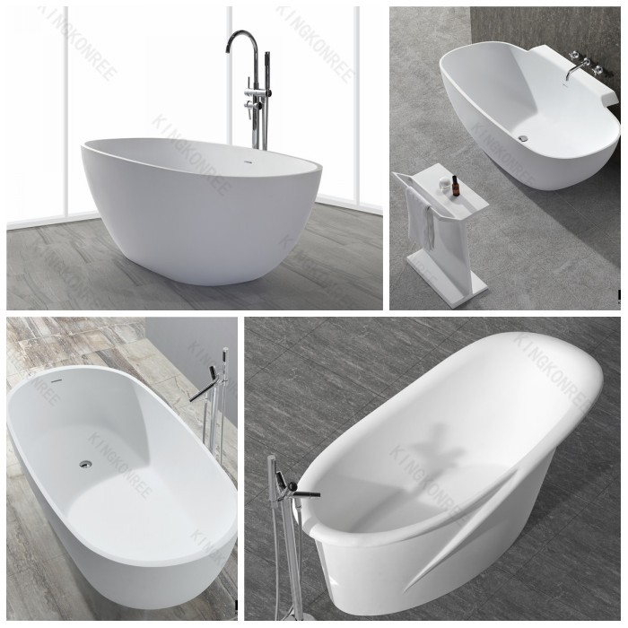 Artificial Stone Free Standing Bath,Stand Alone Freestanding ...