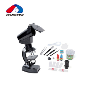 Student scicence toy projection microscope with light for children