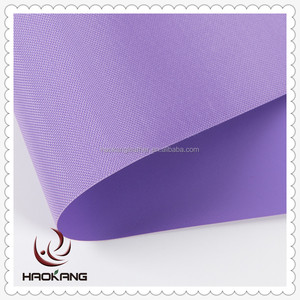 Pvc coated polyester waterproof fabric for motorcycle car cover