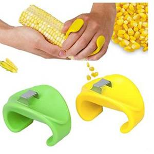 Creative home kitchen stripping corn corn planing scraping knife stripping corn corn separator is a good helper