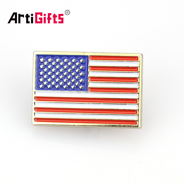 China factory supply promotion custom metal syria flag lapel pin badges