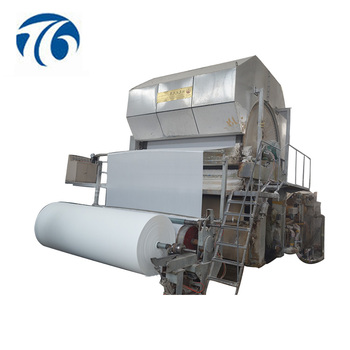 Small Production Line Scale 1092mm Toilet Paper Making Machine for Sale