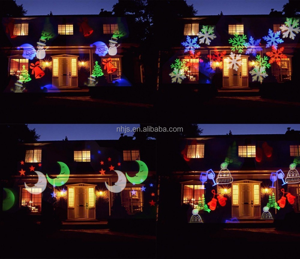 Christmas Projection Lights Rotating Multicolor