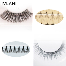 Hand Made Human Hair False Eyelashes Extensions Private Label Individual lashes
