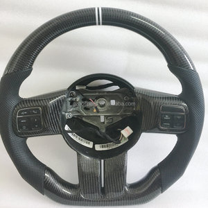 Carbon Fiber racing car steering wheel For Jeep Compass