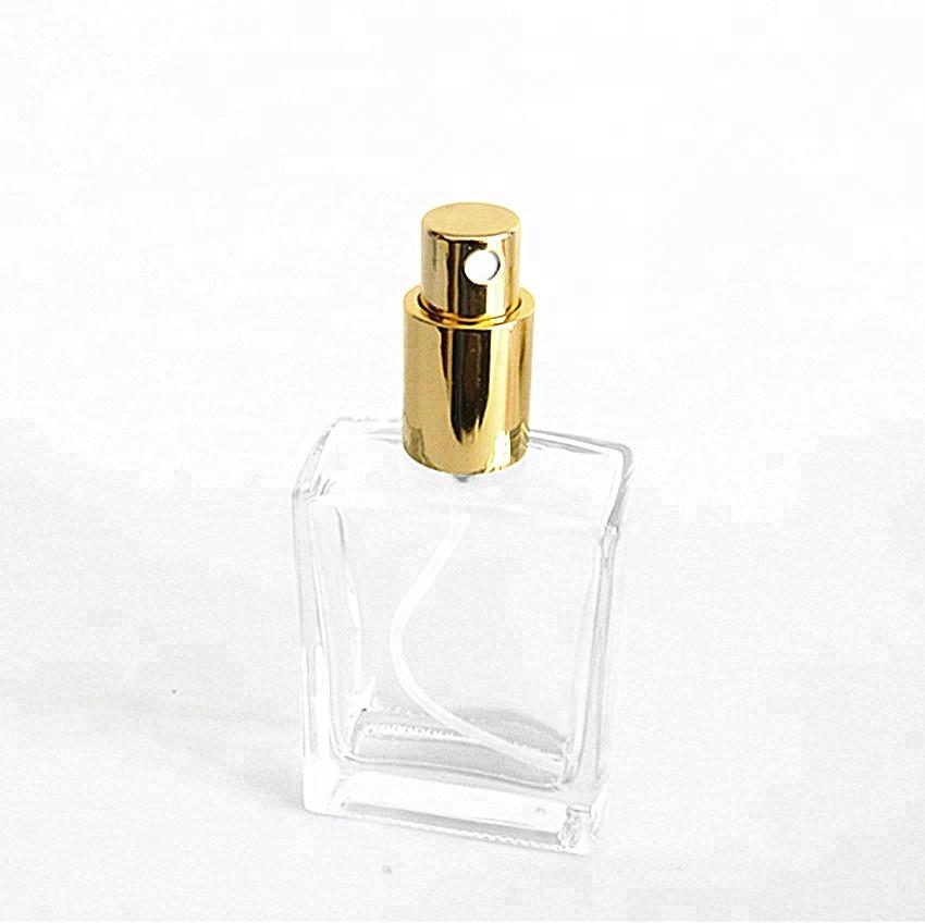 f9b20cc06 الجملة فارغة واضح 50 ملليلتر مستطيلة الزجاج زجاجات العطور مصغرة سوبر فلينت  كريستال الزجاج رذاذ عطر