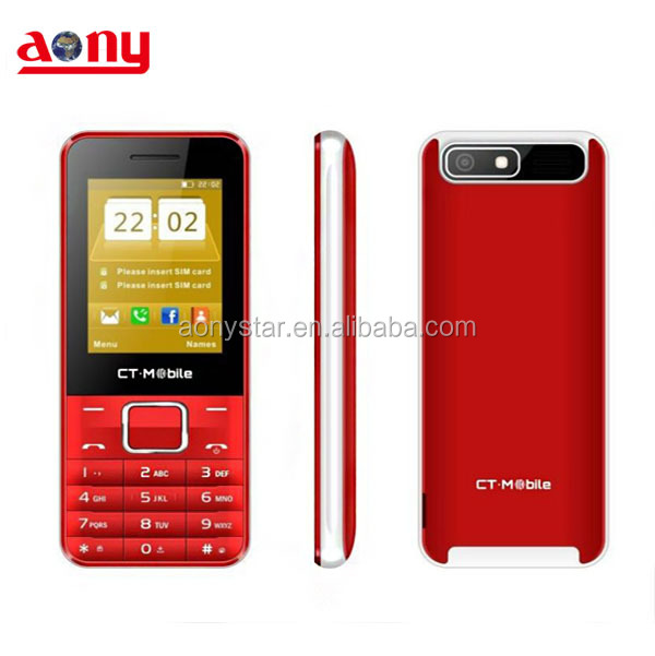 Best 2.4inch cellular phone high quality portable fm radio mobile phone make with your own brand