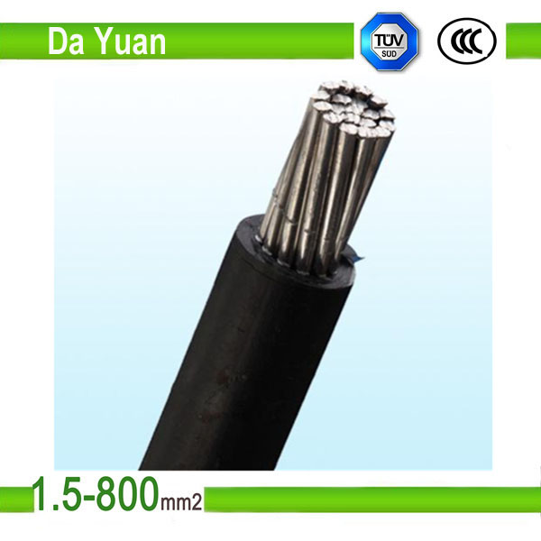 0.6/1kv ICEA Standard Triplex service drop overhead cable Aluminum Crayfish cable 2/0awg wire ABC DY cable