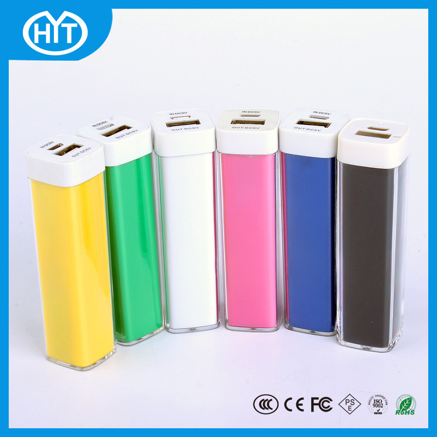 Lipstick legoo 1800mah/2000mah/2200mah/2600mah power bank external battery charger for ht