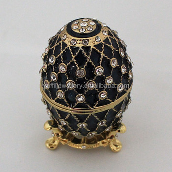 Box of jewelryrussian easter eggfaberge egg shaped ring box box of jewelryrussian easter eggfaberge egg shaped ring box negle Images