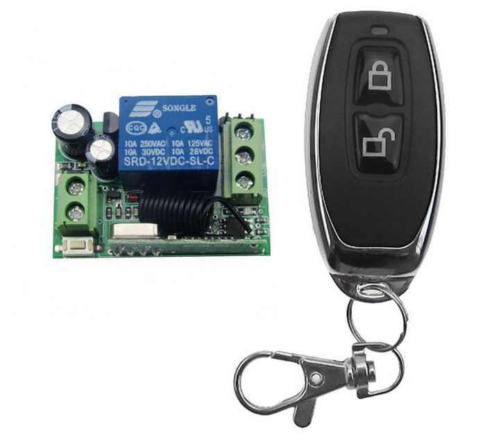 1 Channel Wireless Remote Control Switch for Alarm