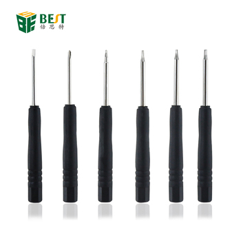 Best-806 Factory Direct Sales Mini Precision Magnetic Torx Pentalobe Screwdriver and PH000 Screw driver
