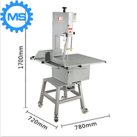 Meat Bone Cutting Machine/ Meat Band Saw Cutter with stainless steel