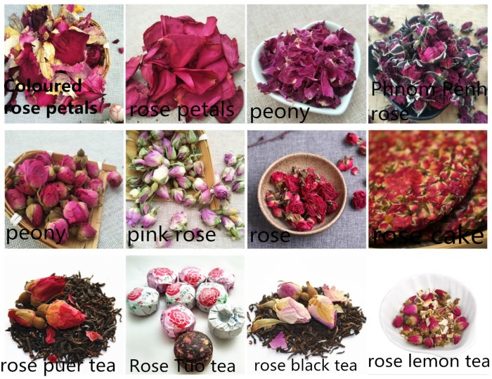 Jin bian mei gui Best price high quality natural dried fresh flower import phnom penh rose tea - 4uTea   4uTea.com