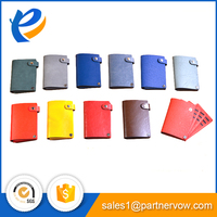 PU leather cover cheap school exercise notebook