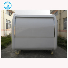 New Arrival Mobile Kitchen Food Cart Truck Outdoor/ Customized China Hand Push Fryer Crepe Mobile Food