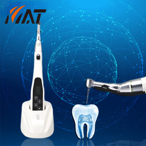 New dental handpiece connect cordless endo motor with built in apex locator