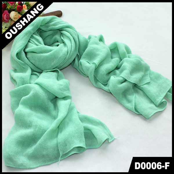 D0006-F Manufacture multicolor girl's beautiful pashmina long scarf